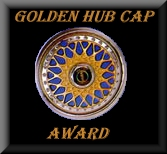 Golden Hub Cap Award